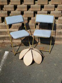 2 chaises Lafuma