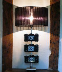 Grande lampe appareils photo de collection années 50/60