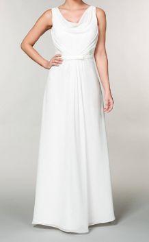 Robe de mariée en mousseline 44