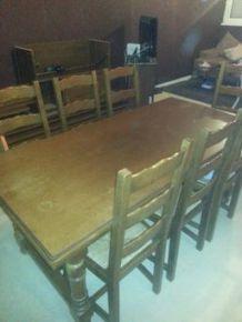 Table de salle à manger & chaises