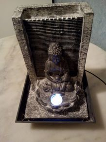 FONTAINE LUMINEUSE BUDDHA