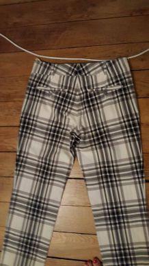 pantalon Gucci motif écossais