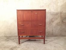 Coiffeuse commode scandinave en teak