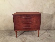 Commode scandinave en teak vintage