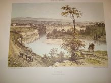 "LITHOGRAPHIE ""RUMILLY"" COLLECTION NICE ET SAVOIE"