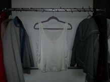 Blouse beige Pull and Bear
