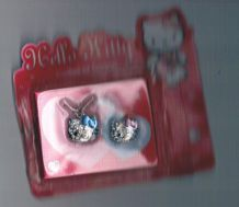 Collier et bague hello kitty
