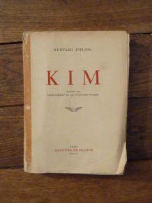 Kim De Ruyard Kipling- Numeroté- Tiré Sur Velin- Mercure De France