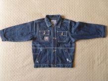 blouson  enfant  JAMY  en jeans  T  4 ans