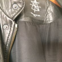 "Veste en cuir SURFACE TO AIR "" justice"" collector  42/44"