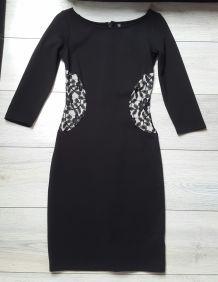 Robe Noir NafNaf taille 34 (FDPC)