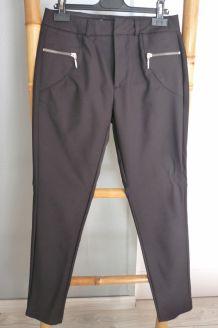 Pantalon femme, noir, Cache-Cache, T 34
