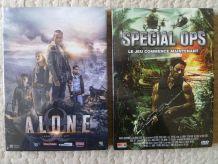 lot  de  2 DVD  , action aventure