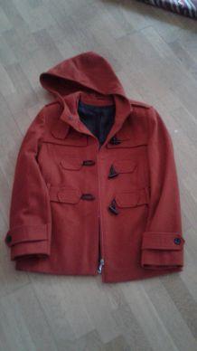 Veste Duffle Coat en laine