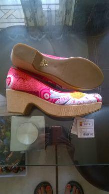 Chaussures compensées Désigual