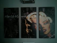 Triptique Marylin Monroe