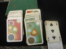 deux jeux de carte vintage
