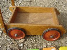 petit trotteur vintage artisanal