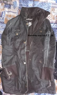 Manteau Marron T.S