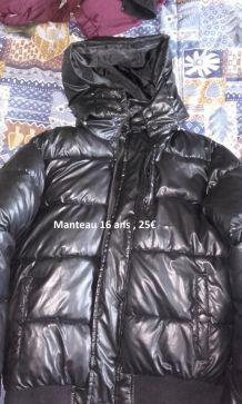 Manteau Trés chaud T. 16ans