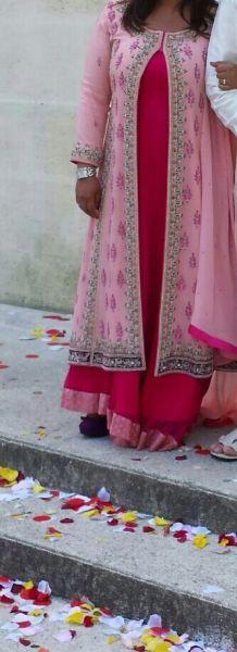 Robe de mariée indienne