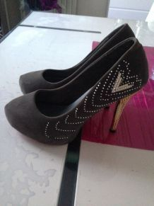 Chaussures grises