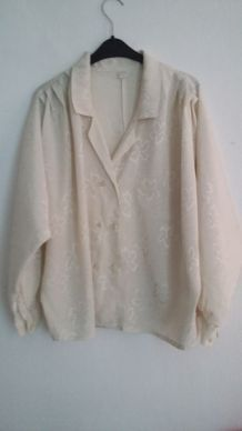 chemise vintage crème