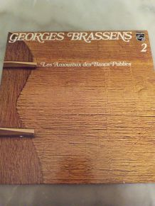 """VINYLE GEORGES BRASSENS """"LES AMOUREUX DES BANCS PUBLICS"""""""