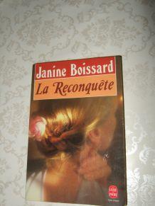 La reconquête-Janine Boissard