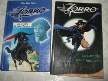 Deux albums de Zorro