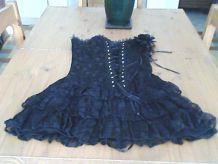 Robe bustier noire H&R London neuve