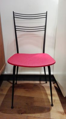 6 chaises Vintage années 60