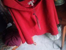 bershka jupe rouge