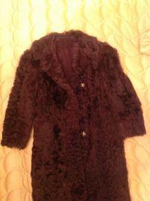 Manteau en chevrette