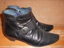 bottines noires