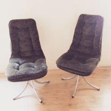 fauteuil vintage années 70