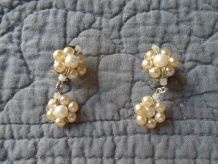 Boucles d'oreilles perle Agatha