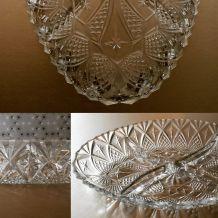 Coupelle apéritif en verre vintage
