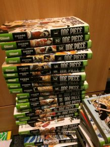58 premiers tomes One piece