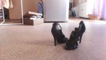 chaussures cuir BCBGMAXAZRIA