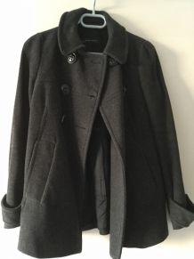 Manteau gris foncé Zara taille 1.