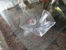 Vide poches verre motif floral