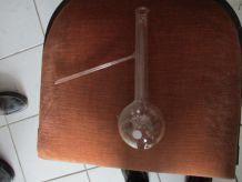 3 Ballons en verre à distiller Pyrex 250 ml