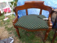 ancien fauteuil de bureau style louis philippe