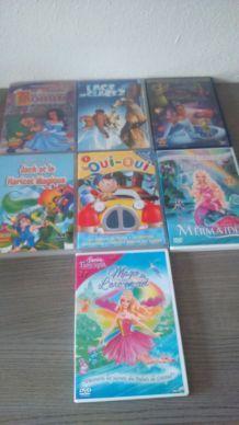 Lot de DVD enfant