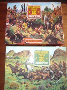 Puzzles (thème Western)