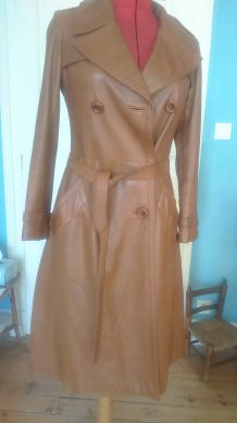 Trench Pierre Cardin cuir