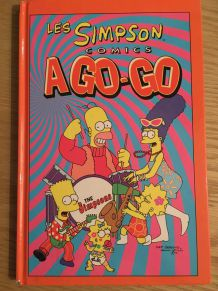 "Lot de 5 BD ""Les Simpsons"" petit format"