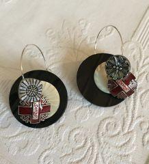 Boucles d'oreille néo vintage