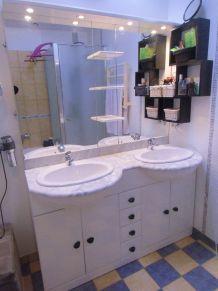 meuble double vasque